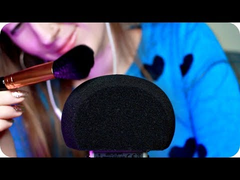 ASMR Microphone Brushing & Windshield Scratching (NO TALKING) 1 Hour Relaxation  💤