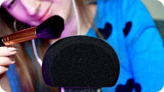 ASMR Microphone Brushing & Windshield Scratching (NO TALKING) 1 Hour for Sleep, Study, Relaxation  💤