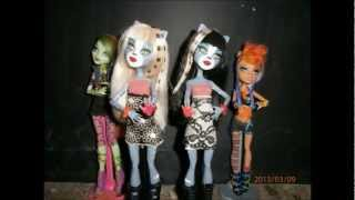 Monster High Fright Song -Dance Stop Motion