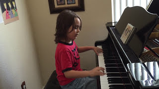 7 Year Old Jacob Velazquez playing a Taylor Swift Medley