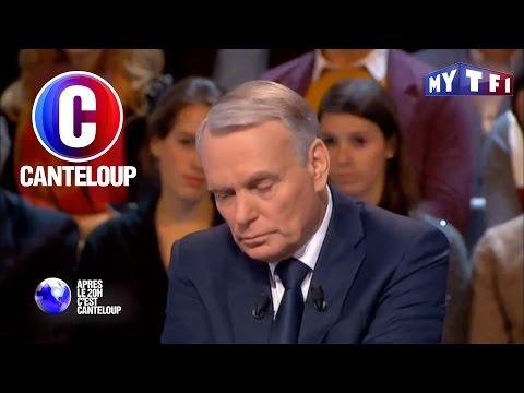 C'est Canteloup - Jean-Marc Ayrault s'endort sur le plateau de David Pujadas