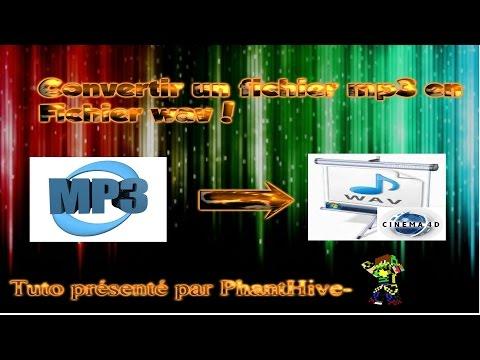 TUTO #1 convertir un fichier mp3 en wav ! Utile pour l'utilisation VFX