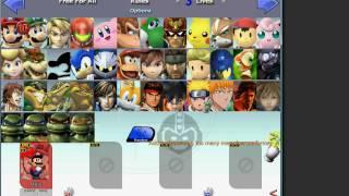 Super Smash Bros Rumble Characters & GamePlay