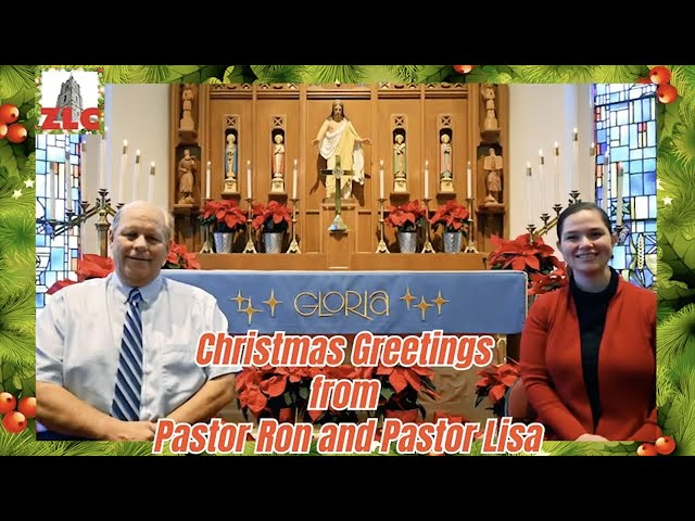 2020 - Christmas Message from Pastor Ron and Pastor Lisa
