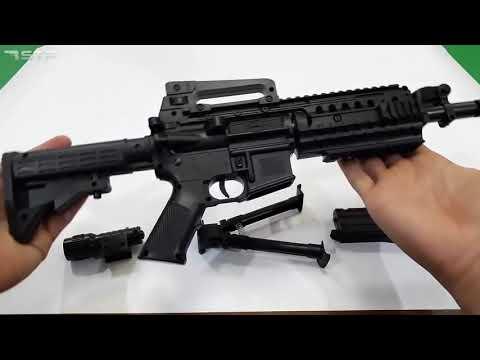 Realistic Toy Machine Gun Ball Bullet Shooter & Soft Dart Toy Pistols