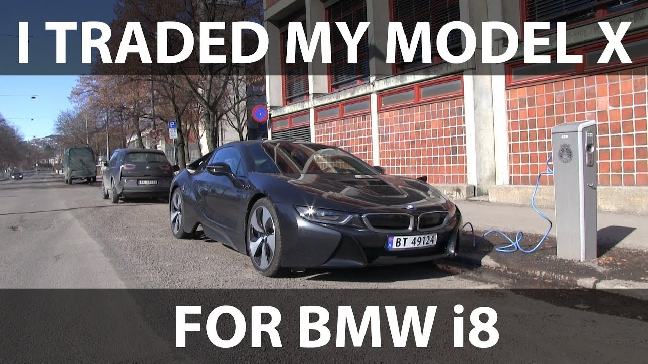 I Traded My Tesla For Bmw I8 Youtube