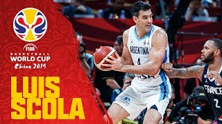 Luís Scola's (28PTS, 13REB) CLUTCH Double-Double semi-final performance vs. France!
