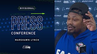 Marshawn Lynch Postgame Press Conference at Packers | 2019 Seattle Seahawks