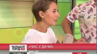 Час у дачи. Большой город live 18/08/2017 GuberniaTV