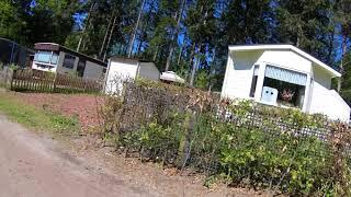 4K. Camping Samoza ( Saxenheim ) Saxenheim, Veluwe, Vierhouten, Nunspeet, Gelderland.