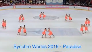 Paradise World Synchro Helsinki 2019 (HD)