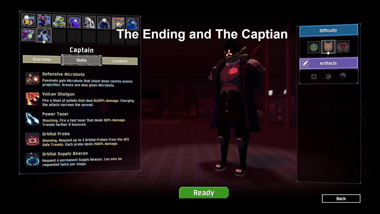 How To Beat ROR2 and Get The Captian