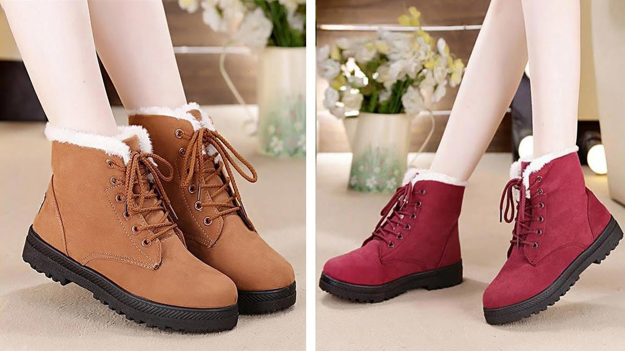 3984ebb7b1b Snow boots 2018 With Classic Heels - YouTube