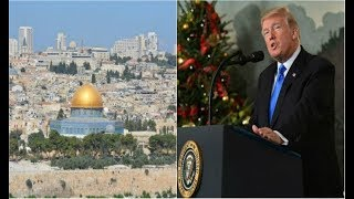 Trump declares Jerusalem Capital of Israel |trump israel jerusalem |trump jerusalem capital