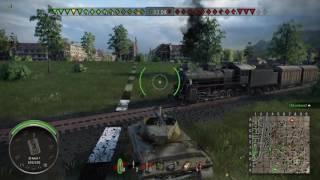 World of Tanks паша  молния,это игра про танки а не паравозы :)