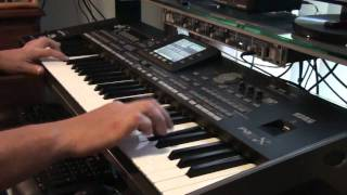 KORG Pa3x - Saxofon Tenor & Daniel Andronescu