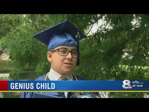 11-year-old genius graduates from St. Petersburg College
