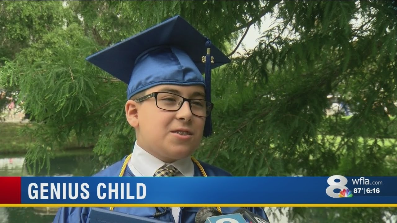 01ee3eb49e48 11-year-old genius graduates from St. Petersburg College - YouTube