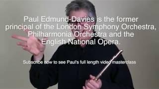 Видео урок Пола Эдмонд-Дэвиса, профессора Королевской Академии музыки в Лондоне