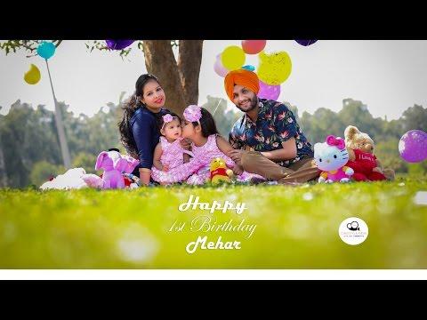 First Birthday | Baby Girl | Pre Birthday Song | Mehar | Cinestyle India | Chandigarh, Punjab