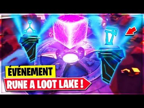 LA DEUXIÈME RUNE EST APPARU A LOOT LAKE ! LIVE FORTNITE !