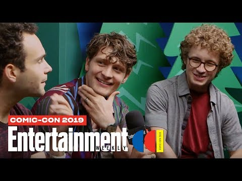 'The Goldbergs' Cast & 'Schooled' Star Brett Dier Join Us LIVE | SDCC 2019 | Entertainment Weekly