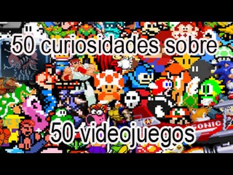 50 curiosidades sobre 50 videojuegos