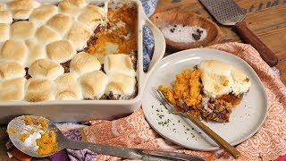Family Style Sweet Potato Casserole