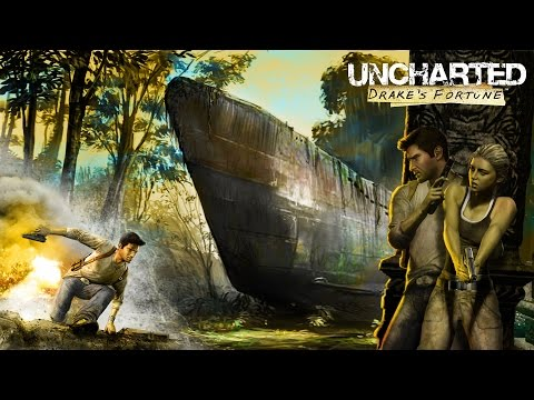 Uncharted: Drake's Fortune (PS4 - Game Movie)