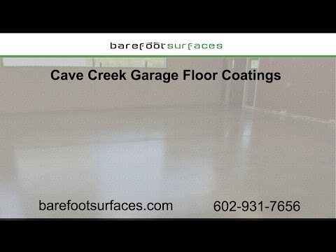 Cave Creek Garage Floor Coatings | Barefoot Surfaces