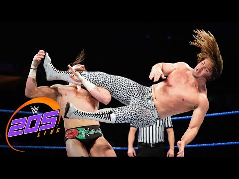 The Brian Kendrick vs. Mike Kanellis: WWE 205 Live, Feb. 5, 2019