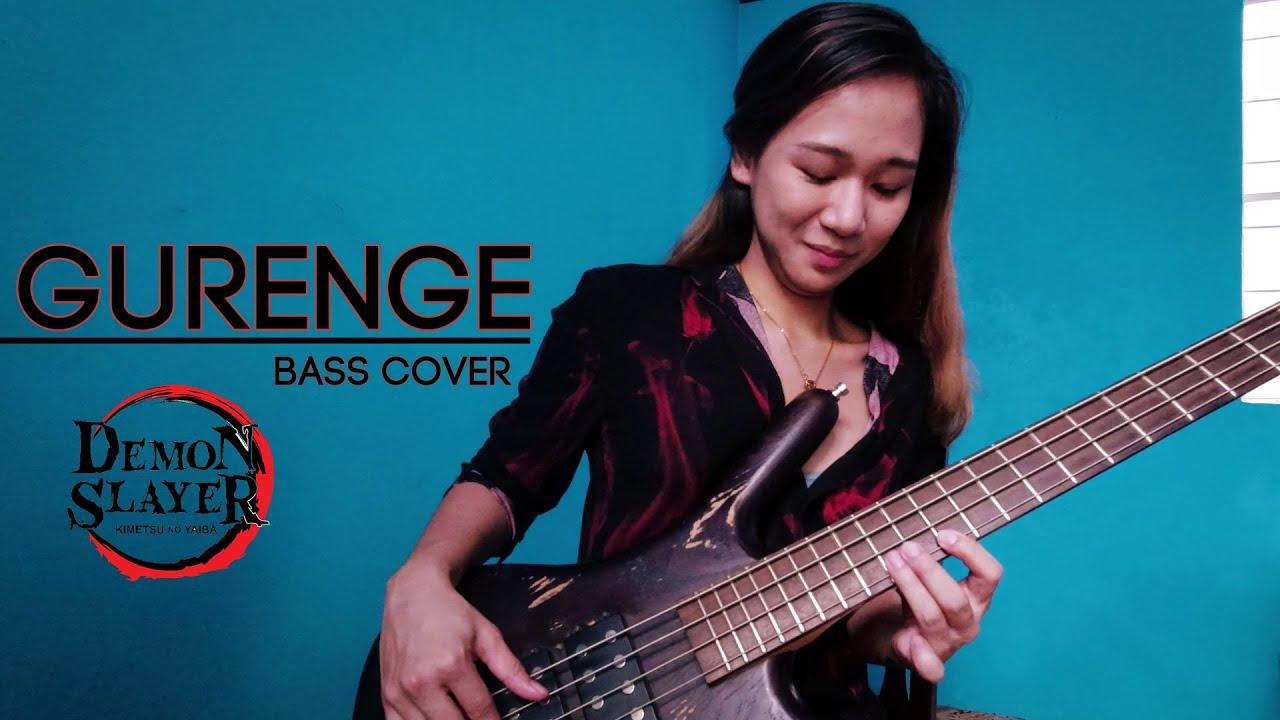 【鬼滅の刃】LiSA - 紅蓮華 ベース弾いてみた / Demon Slayer Opening l - Gurenge | Bass Cover