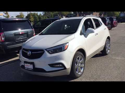 White Frost Tricoat 2019 Buick Encore AWD 4dr Essence Review Oshawa null - Mills Motors Buick GMC