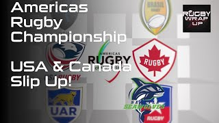 Americas Rugby Championship. USA & Canada slip up   RUGBY WRAP UP