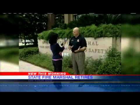 State Fire Marshal Retires