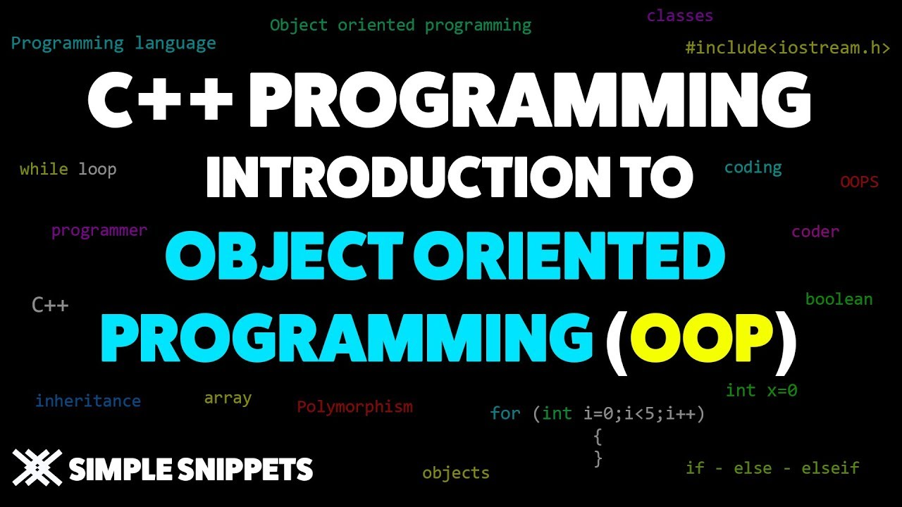 Introduction to Object Oriented Programming with C++