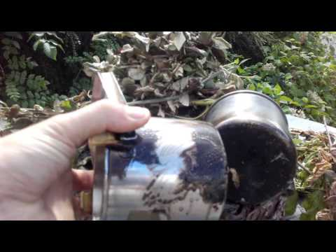 How to clean Black pots, Bushcraft / Survival gear - Wash Burned wood fire pots and pans