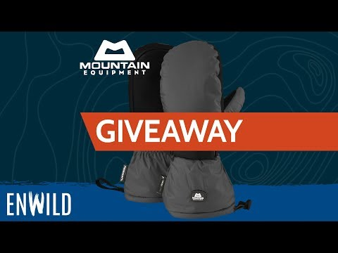 Giveaway ~ Mountain Equipment Redline Mitts