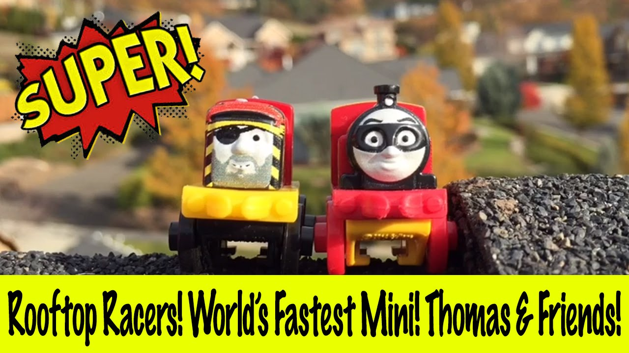 Rooftop Racers - World's Fastest Mini! Thomas & Friends!