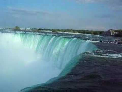NIAGARA FALLS - CANADA SIDE -  HORSESHOE WATERFALL