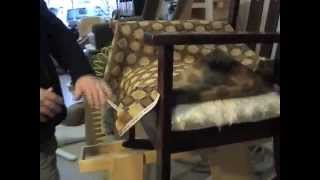 How to Upholster: Padding A Chair