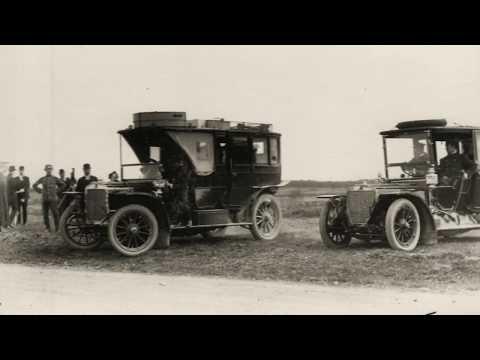 Автомобильные гонки на 1 версту.../ Automobile race for one verst 1909