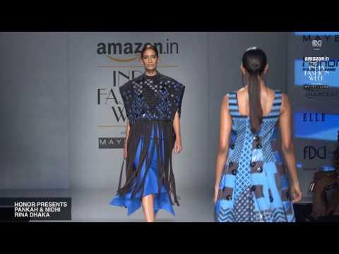 Honor presents Pankaj and Nidhi and Rina Dhaka | Amazon India Fashion Week'17