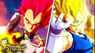 THE BEST SSG VEGETA TEAM! Dragon Ball Legends Super Saiyan God Vegeta Showcase
