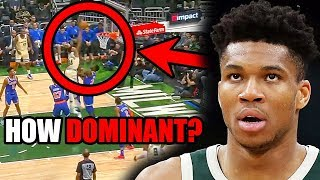 Just How DOMINANT Is Giannis Antetokounmpo in the NBA? (Ft. Dunks, Bucks, & A Weird Body)