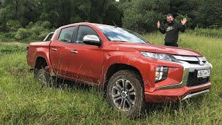 Как гребет Mitsubishi L200 на реальном бездорожье? Бонус!