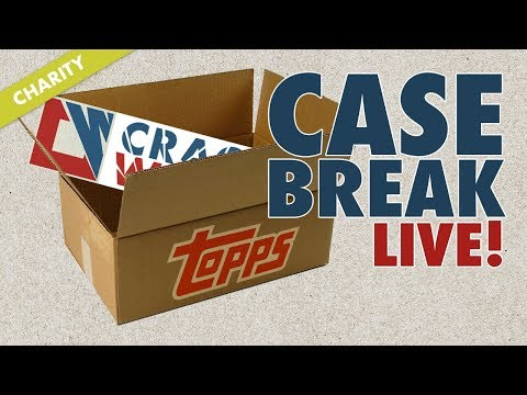 2017 Topps Update Charity Half Case Break for Breast Cancer Awareness Month