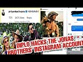DIPLO HACKS THE JONAS BROTHERS' INSTAGRAM ACCOUNT