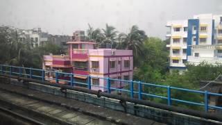 Kolkata Metro Railway Ride : New Garia to Tollygunge
