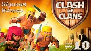 Прохождение игры Clash Of Clans Android 10 Клан и его войны